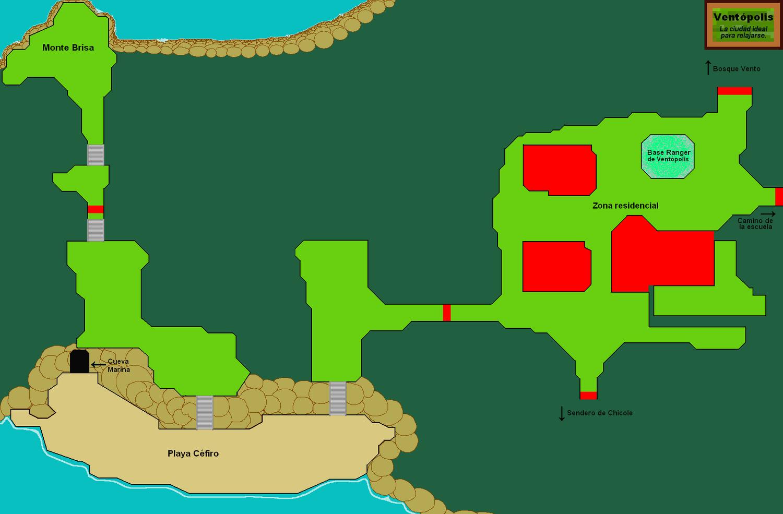 Plano de Ventópolis.