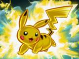 PAA Dibujo de Pikachu usando rayo