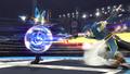 Lucario usando doble equipo SSB4 Wii U.png