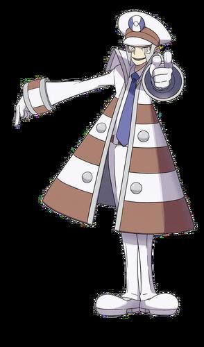 """Ilustración de Caril en <a href=""""/wiki/Pok%C3%A9mon_Negro_y_Blanco"""" title=""""Pokémon Negro y Blanco"""" class=""""mw-redirect"""">Pokémon Negro y Blanco</a>"""
