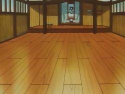 Campo de batalla del Gimnasio de Fucsia en el anime