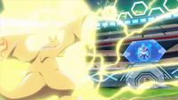 EP934 Pikachu usando rayo