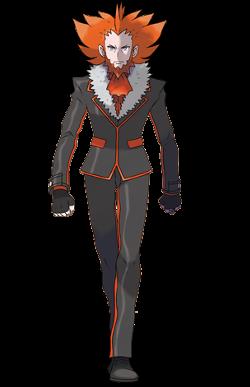 <i>Ilustración de Lysson en Pokémon X/Y</i>