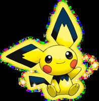 Pichu Color Pikachu