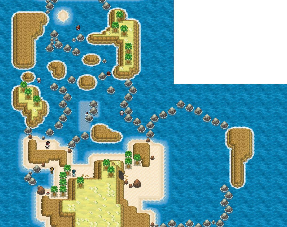 Mapa de la ruta 21