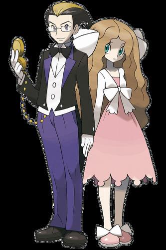 Ilustración de Kokuran y Catleya