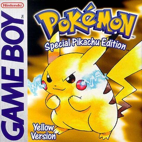 Archivo:Carátula de Pokémon Amarillo EN.jpg