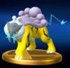 Trofeo de Raikou SSB4 Wii U.png