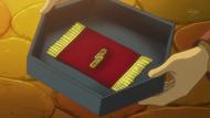 EP723 Yakón entregándole a Ash la medalla Temblor