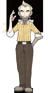 """Ilustración de Carrasco Encina en <a href=""""/wiki/Pok%C3%A9mon_Negro_y_Pok%C3%A9mon_Blanco"""" title=""""Pokémon Negro y Pokémon Blanco"""">Negro y Blanco</a>"""