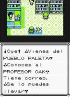 Correo para Oak Tienda Pokémon de Ciudad Verde (Amarillo)