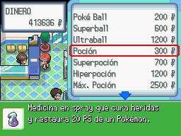 Comprando en una tienda Pokémon en DP.png