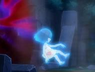 EP559 Niña fantasma siendo tragada por el portal