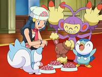 Archivo:EP553 Pokémon de Maya comiendo.png