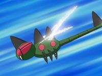 EP583 Yanmega usando ataque ala