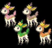 Ilustración de Deerling