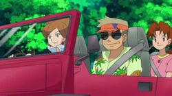 EP661 Encina, Oak y Delia en el coche.jpg