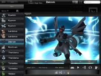 Pokédex for iOS (iPad) Zekrom
