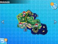 Localización de la ruta 2 en Alola