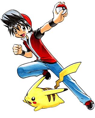 Archivo:Red y Pikachu (manga).png