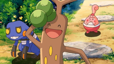 Archivo:P10 Croagunk, Sudowoodo y Happiny.png