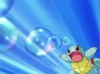 EE05 Squirtle usando burbuja