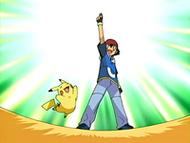 EP467 ¡Ash ha ganado el símbolo de la Valentía!