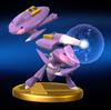 Trofeo de Genesect SSB4 (Wii U)