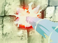 Archivo:EP526 Usando pistola agua con la piedra.png