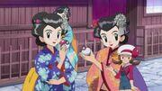 EP612 Lira y las chicas Kimono