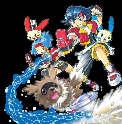 Archivo:Pokemon ranger manga-2.png