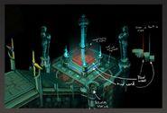 DoC puzzle room concept art