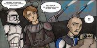 Batalla en un planeta no identificado (Skywalker y Tano)