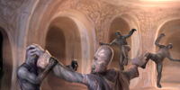Ataque en la Logia de la Orden del Círculo Inclinado