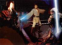 Anakin y Obi-Wan vs Omega