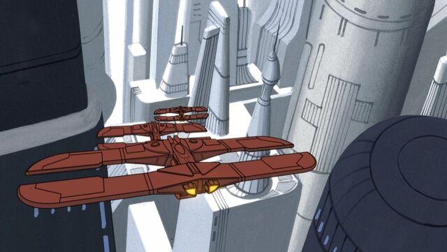 Archivo:CIS Landing on Coruscant.jpg