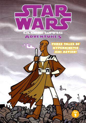 Archivo:Star Wars Aventuras en las Guerras Clónicas Volumen 2.jpg