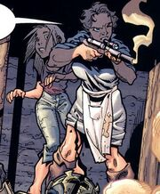 Jango's mother and sister.JPG