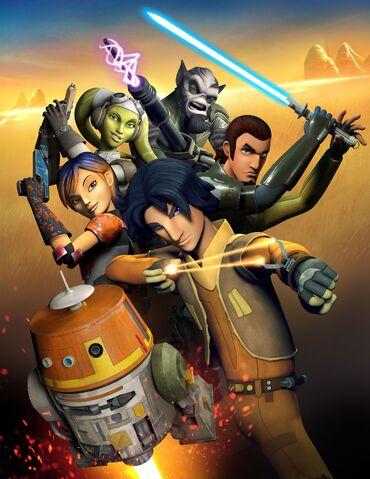 Archivo:Star Wars Rebels Poster.jpg