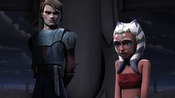 Ahsoka and anakin