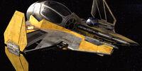Interceptor ligero Eta-2 clase Actis de Anakin Skywalker