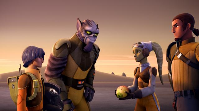 Archivo:Ezra y Zeb de regreso con la fruta.png