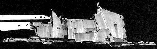 Archivo:Alderaan War Frigate side.jpg