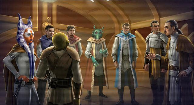 Archivo:Jedi Council Great Galactic War.JPG