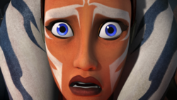 Vader descubierto por Ahsoka