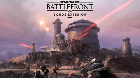Star Wars Battlefront – Tráiler Borde Exterior