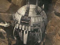 Geonosian Dreadnaught Core Ship