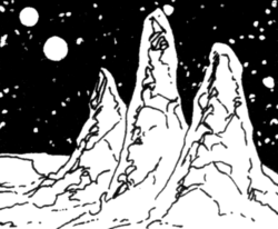 Three Peaks of Tharen