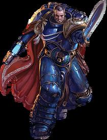 Capitán Cato Sicarius Ultramarines Warhammer 40,000 Conquest