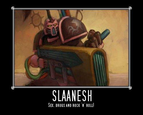 Slaanesh motivational poster by vulder13-d33p2vg
